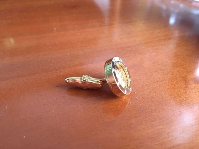 Magerit Whale Back Cufflink