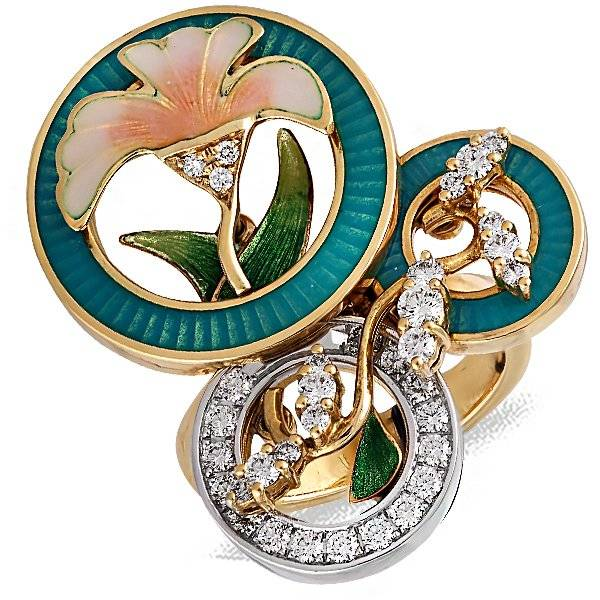 Faberge Cocktail Ring