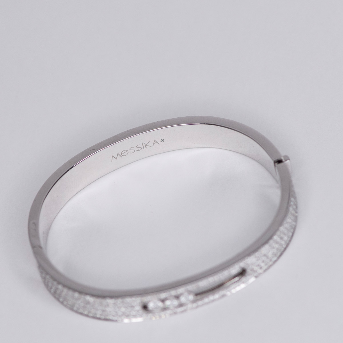 Messika Move Joaillerie Pave Bangle