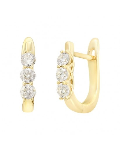 Zarina Huggie Earrings