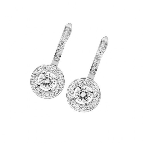 Diamond Land Dangle Earrings