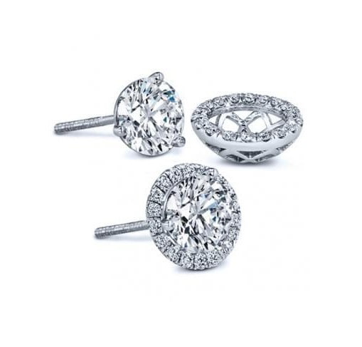 Diamond Gellery Stud Earrings