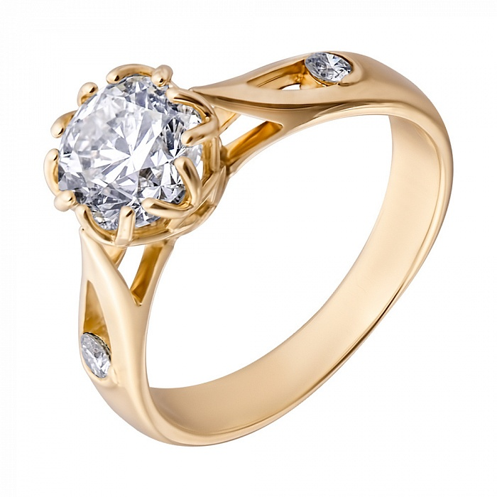 Zlato Engagement Ring