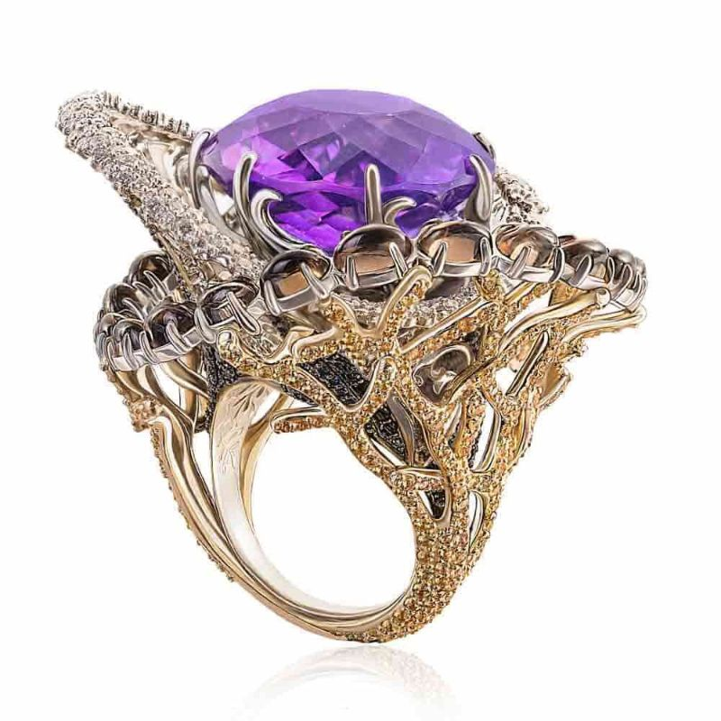 Storm Cocktail Ring