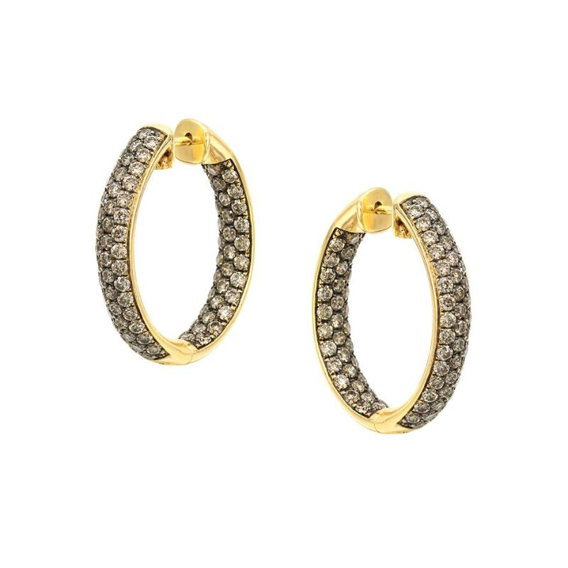 Zarina Hoop Earrings