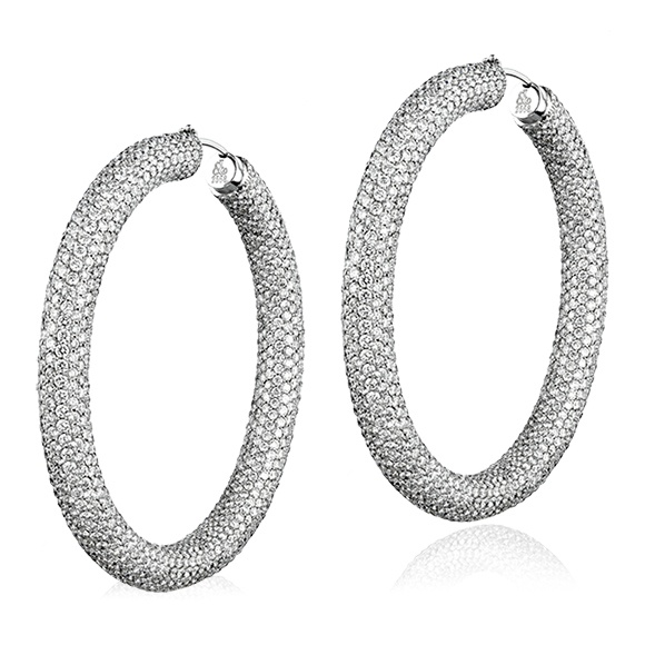 Jacob & Co Hoop Earrings