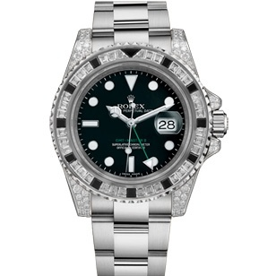 Rolex GMT-Master II Diamonds Custom