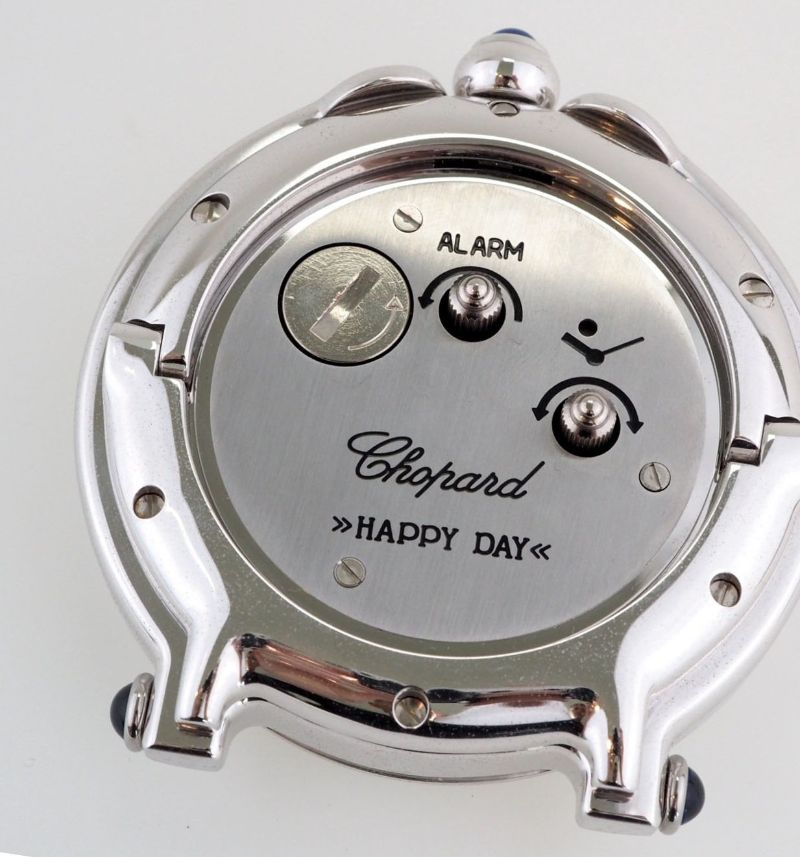 Chopard Happy Day Travel Alarm Clock Table