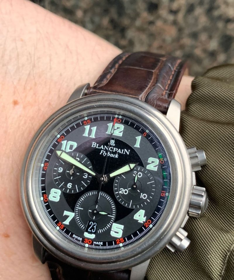 Blancpain Leman Fly-Back