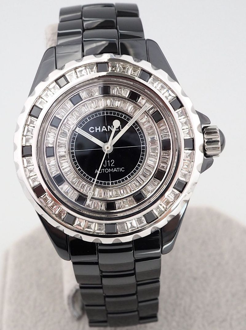 Chanel J12 Custom Diamond Bezel & Dial